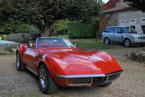 Very Nice convertible Corvette in France