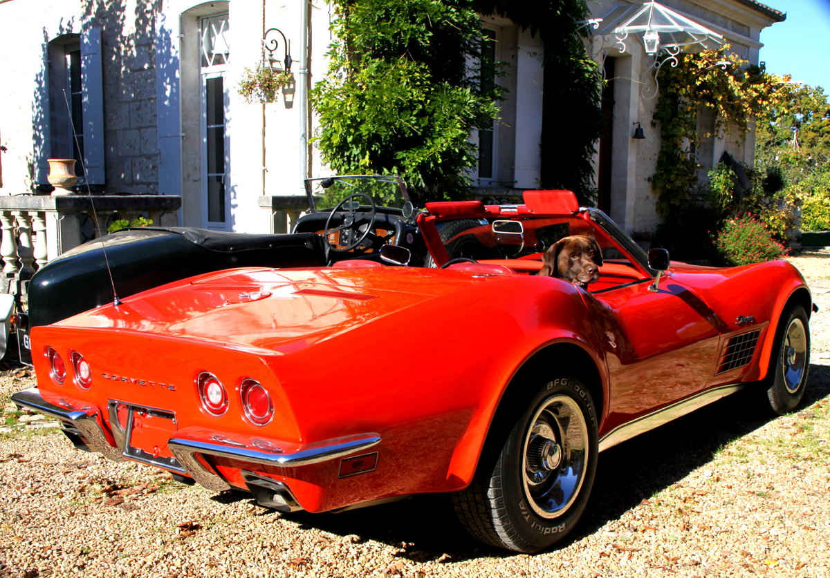 1970 Very Nice convertible Corvette in France For Sale (picture 2 of 6)