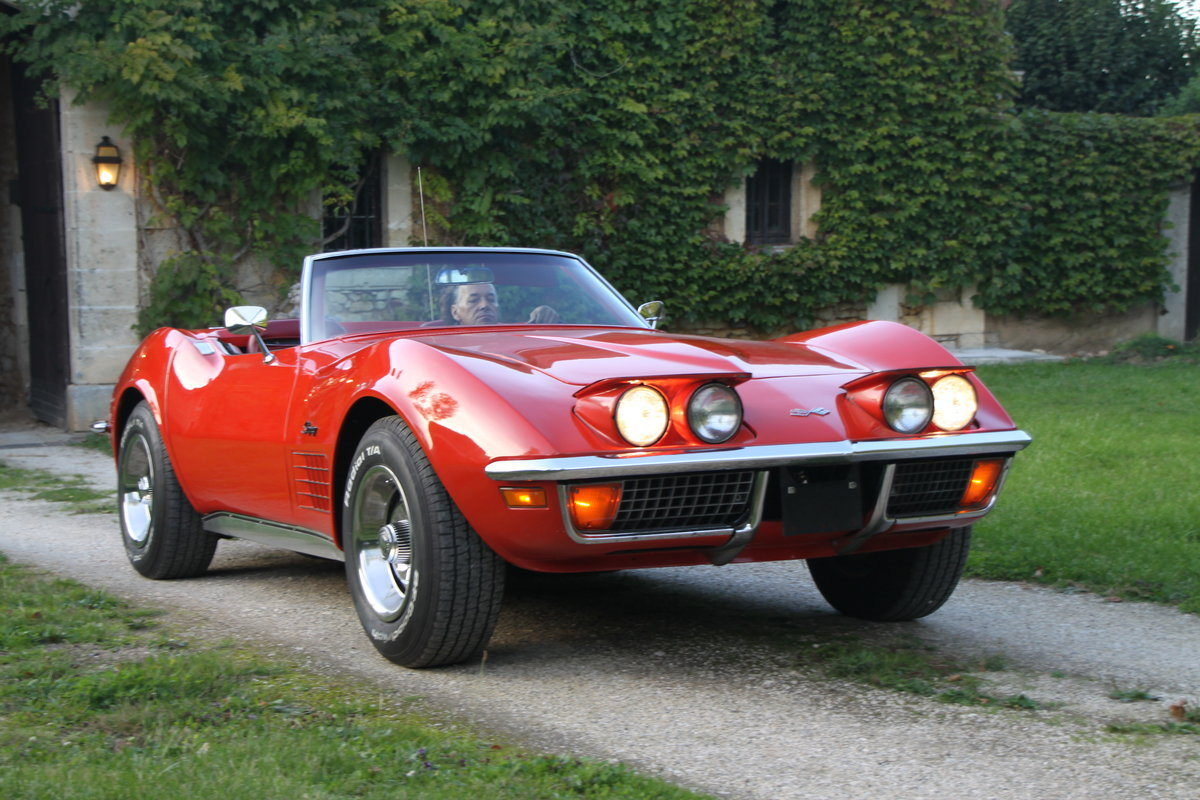 1970 Very Nice convertible Corvette in France For Sale (picture 3 of 6)