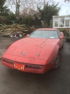 1983 Chevrolet Corvette C4 for resto/spares 30/5/20 SOLD by Auction
