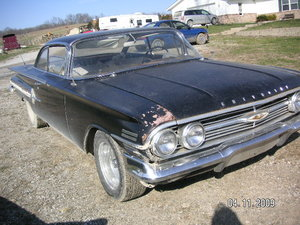 1960 Chevrolet Impala 348 2dr HT