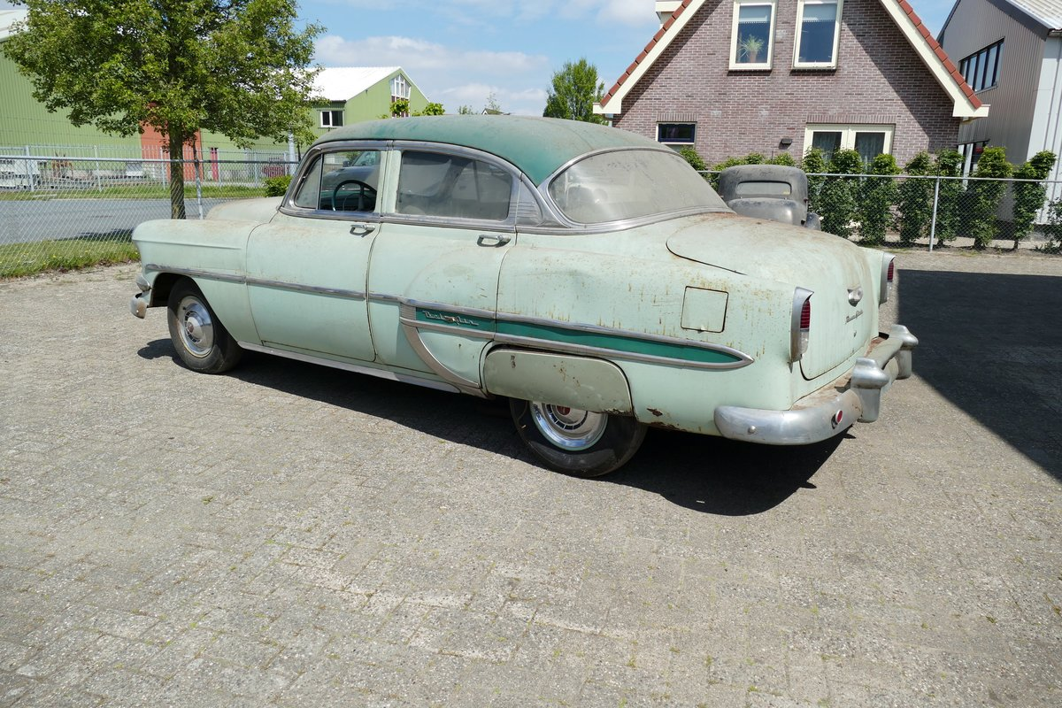 Chevrolet Bel Air 4 Door Sedan 1954 Barnfind SOLD (picture 2 of 6)