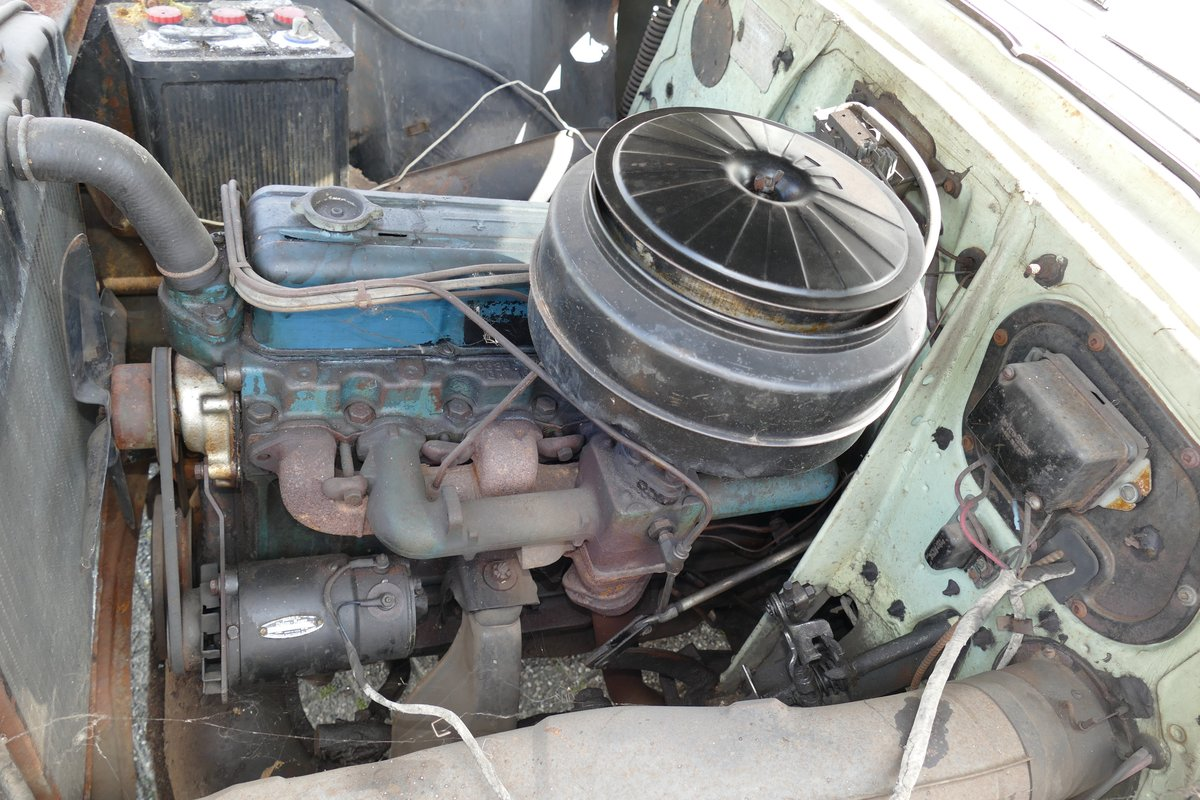 Chevrolet Bel Air 4 Door Sedan 1954 Barnfind SOLD (picture 5 of 6)
