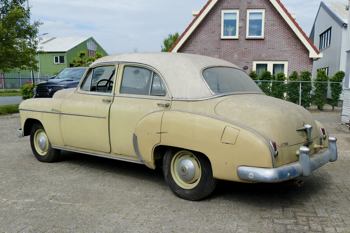 Chevrolet Styleline 4 door sedan 1950 €6950 SOLD (picture 3 of 6)