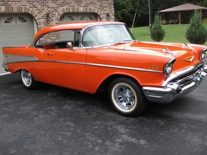 1957 Chevrolet Bel Air Sport Coupe (Mount Savage, MD)