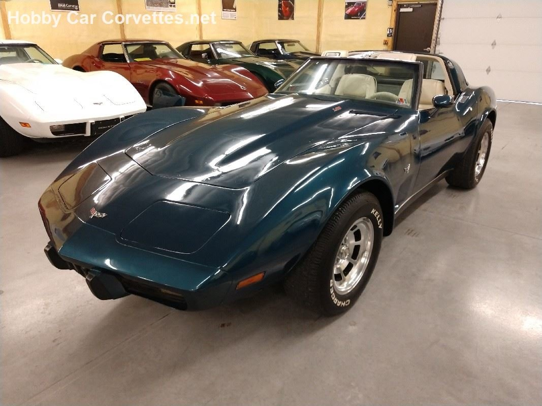 1979 Blue Corvette Oyster Interior For Sale (picture 2 of 6)