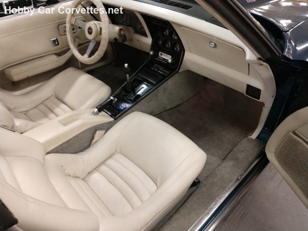 1979 Blue Corvette Oyster Interior For Sale (picture 3 of 6)