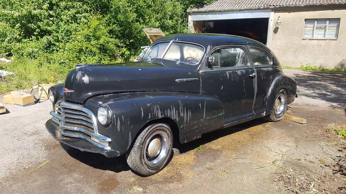 1947 Chevy fleetline great project For Sale (picture 1 of 6)