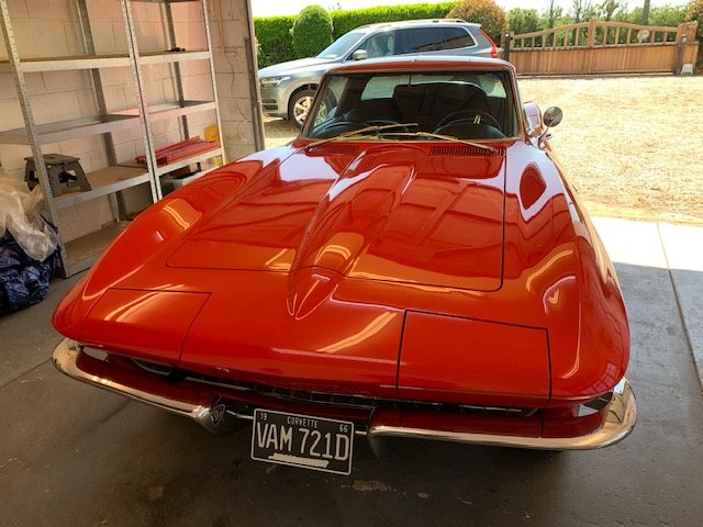 1966 Corvette stingray coupe rare matching numbers For Sale (picture 2 of 6)