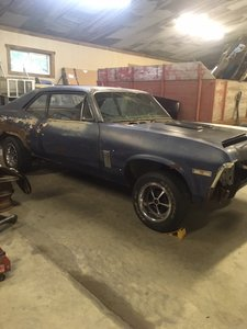 1970 Chevrolet Nova * Project For Sale