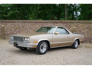 1986 Chevrolet El Camino V8 with only 111.000 miles from new For Sale