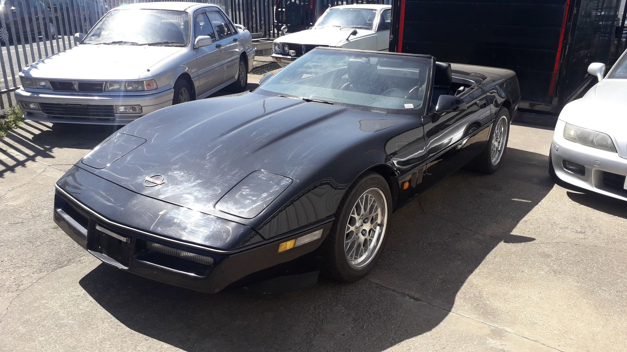 1989 C4 CORVETTE - IMPORTED FROM JAPAN - RUST FREE - CHEAP  For Sale (picture 2 of 6)