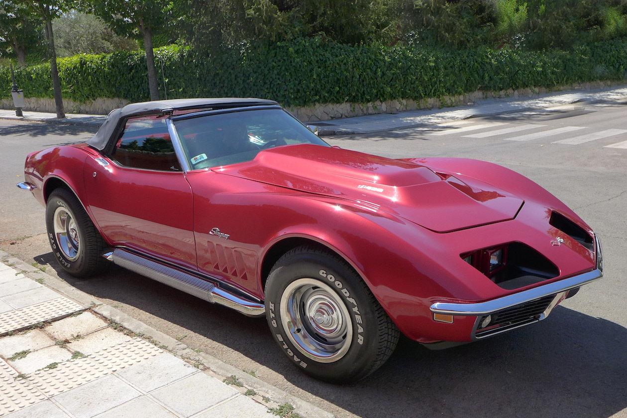 Corvette Stingray cabriolet 1969 For Sale (picture 1 of 6)