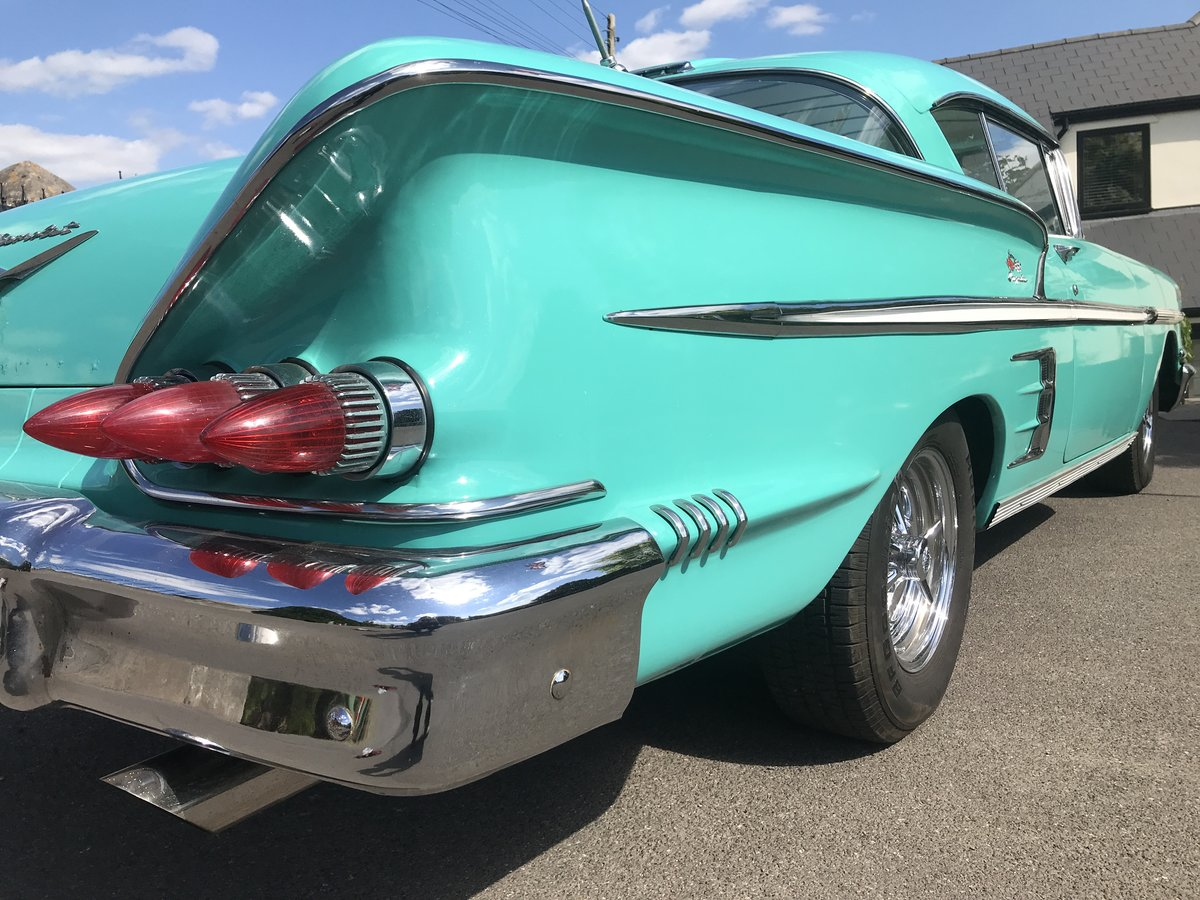 1958 Chevrolet impala sports coupe For Sale (picture 5 of 6)