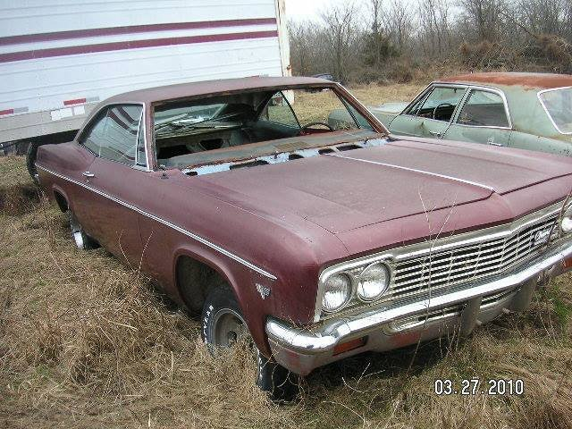 1966 Chevrolet Impala 2dr HT For Sale (picture 1 of 1)