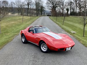 1977 Chevrolet Corvette Stingray C3 finished in bright red 400BHP For Sale