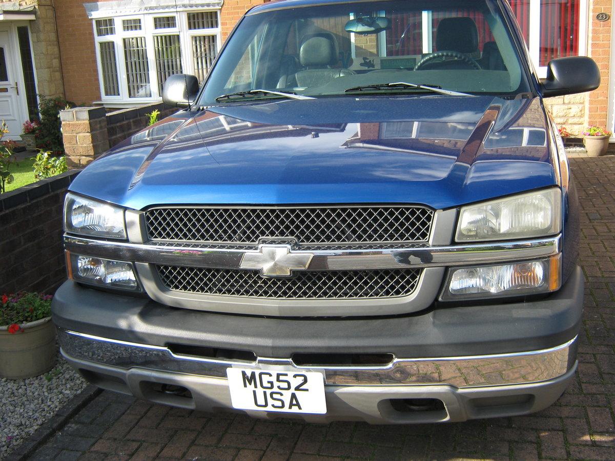2003 Chevrolet Silverado Pickup For Sale (picture 1 of 6)