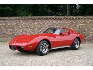 1977 Chevrolet Corvette C3 L82 T-Top One owner car, low miles, fa For Sale
