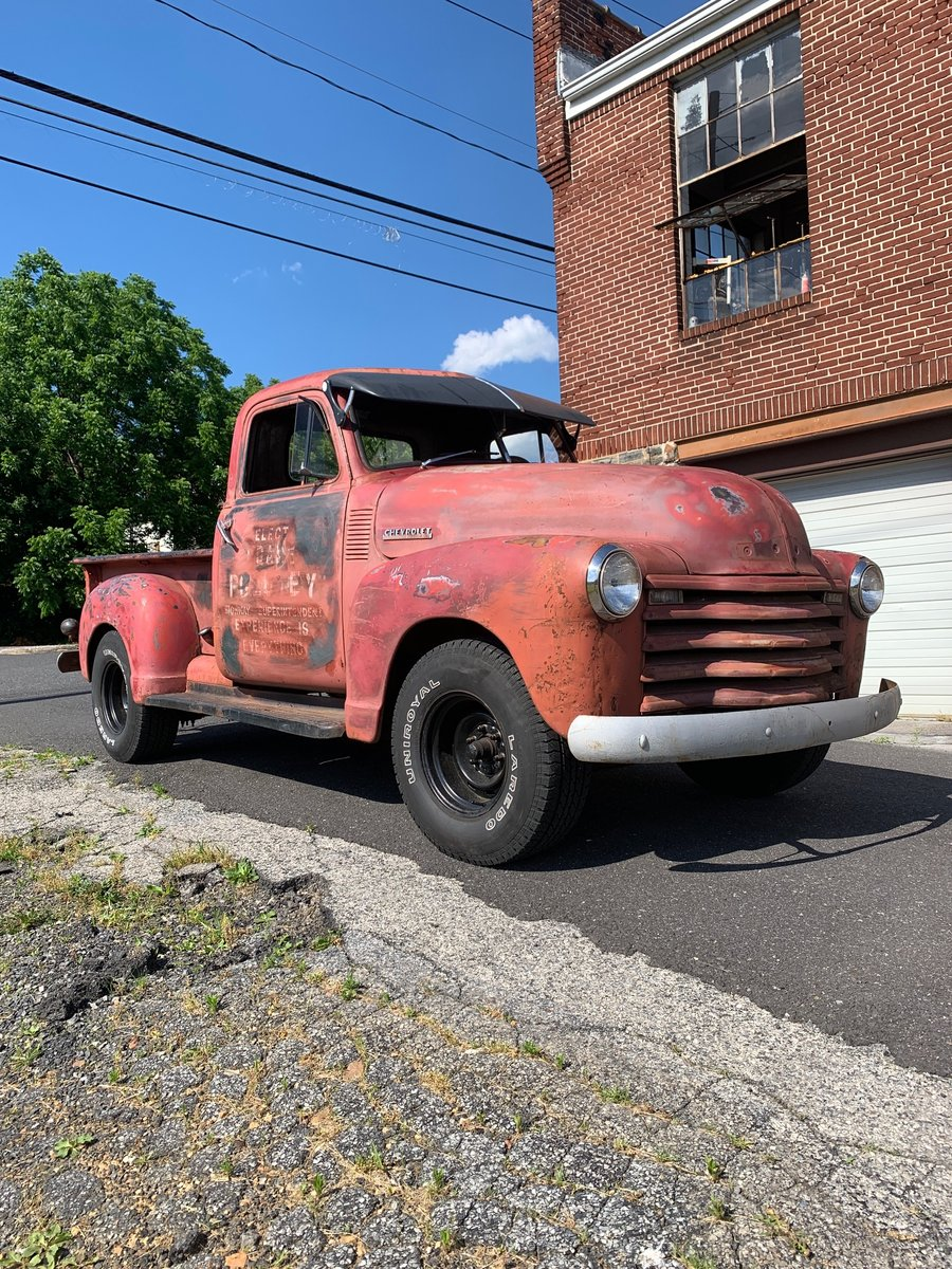 1947 Chevrolet 3100 pick-up For Sale (picture 1 of 6)