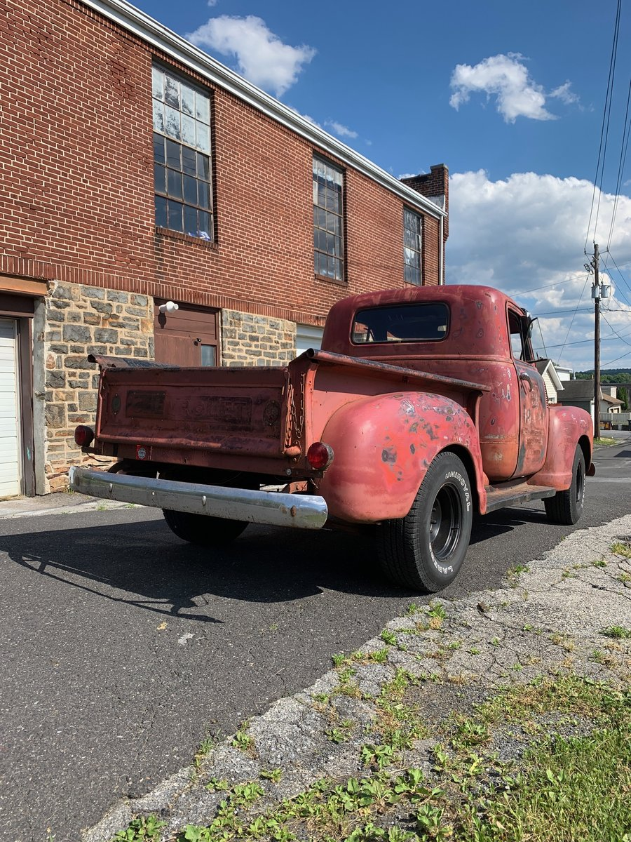 1947 Chevrolet 3100 pick-up For Sale (picture 2 of 6)