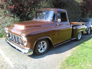 1955 Chevrolet 3100 short bed pick up