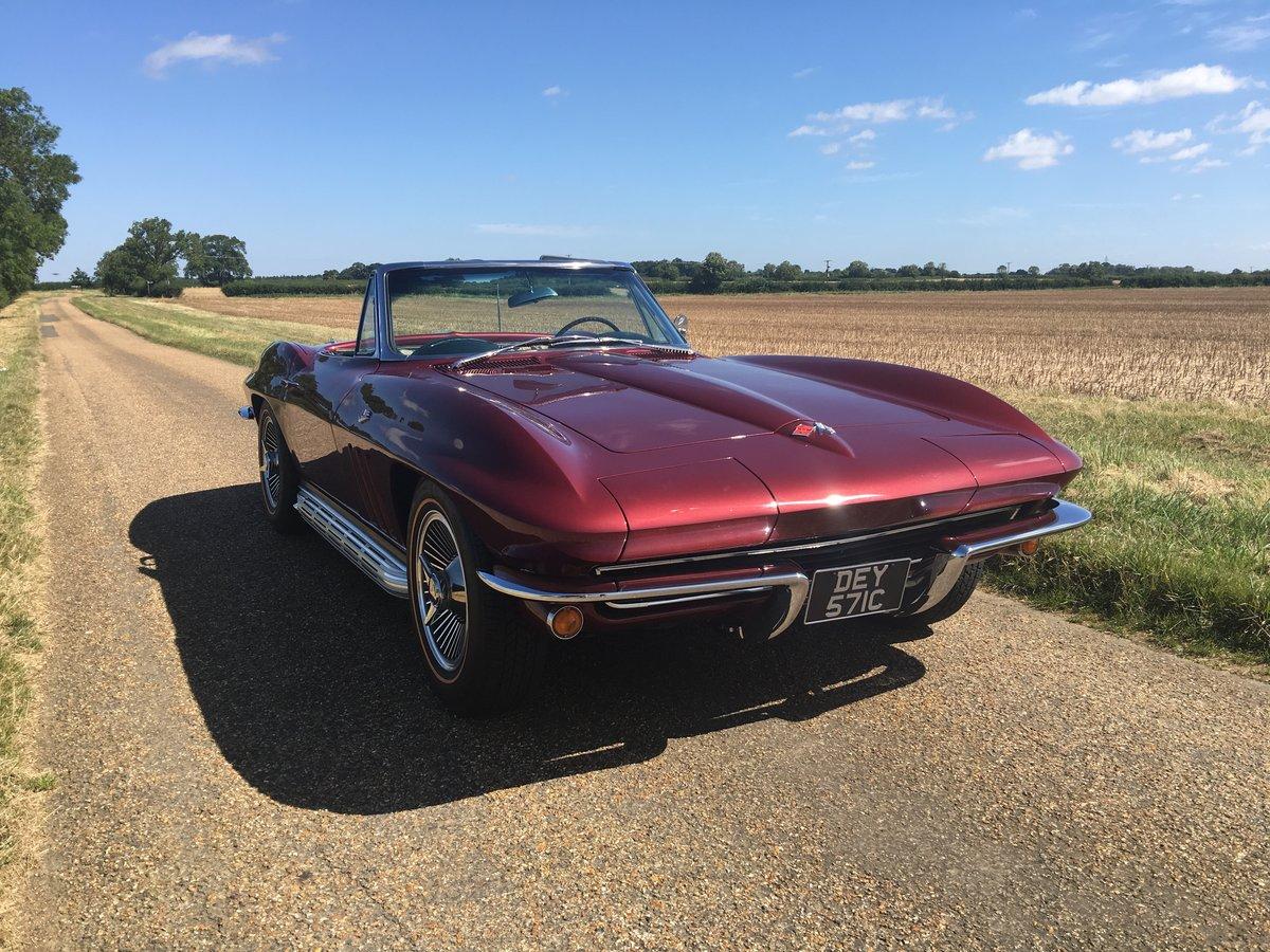 1965 Corvette Stingray C2  For Sale (picture 1 of 6)