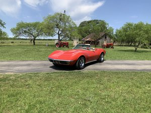 Picture of 1971 CHEVROLET CORVETTE STINGRAY, #S MATCHING LT-1, 4-SPEED SOLD