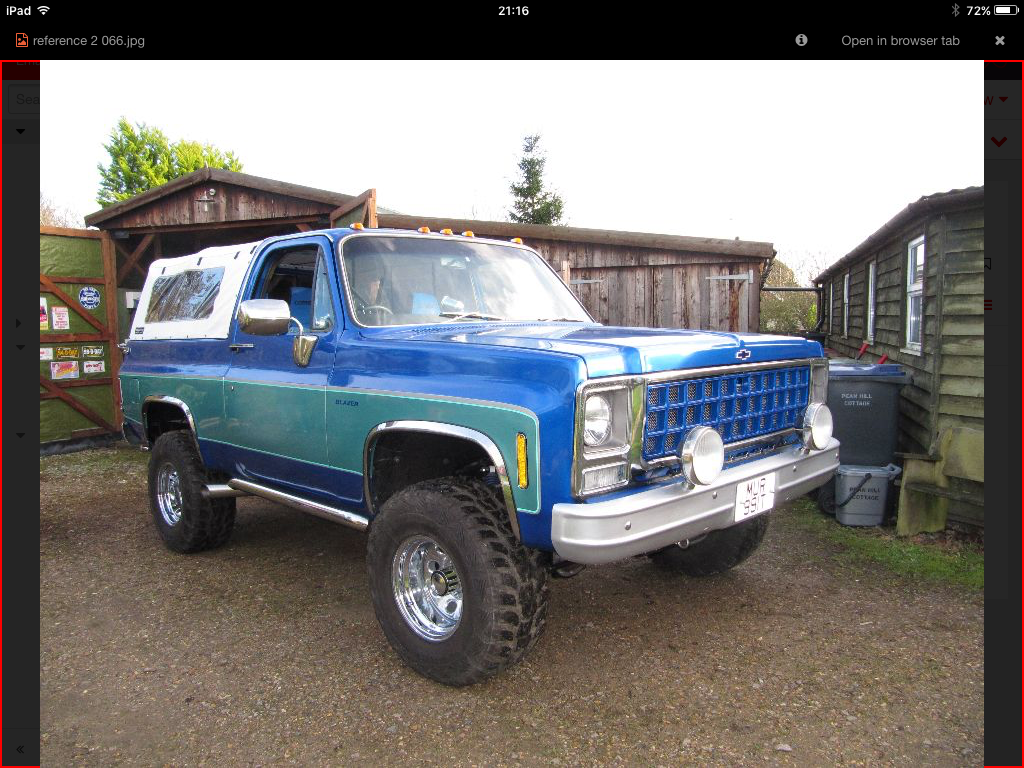 1979 Chevy blazer For Sale (picture 1 of 6)