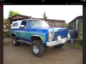 1979 Chevy blazer