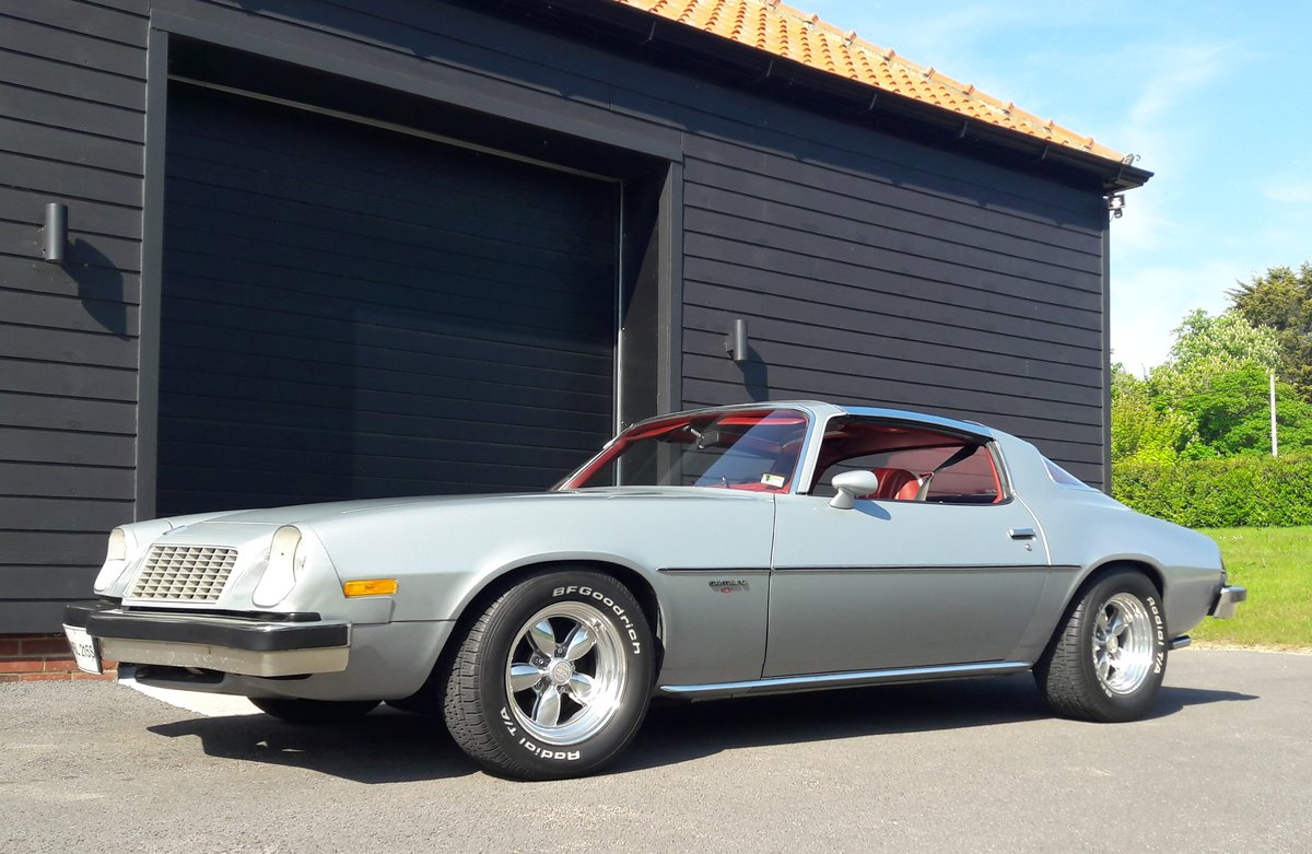 1977 Chevrolet Camaro Sport Coupe For Sale (picture 2 of 6)