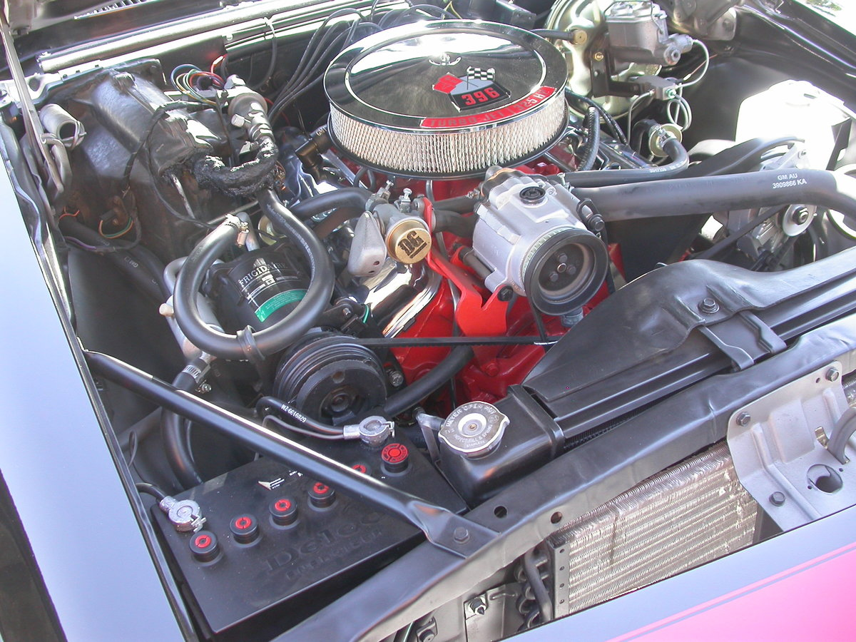 1968 CALIFORNIA RS/SS 396ci 4SPEED CAR NUT AND BOLT FRESH For Sale (picture 6 of 6)