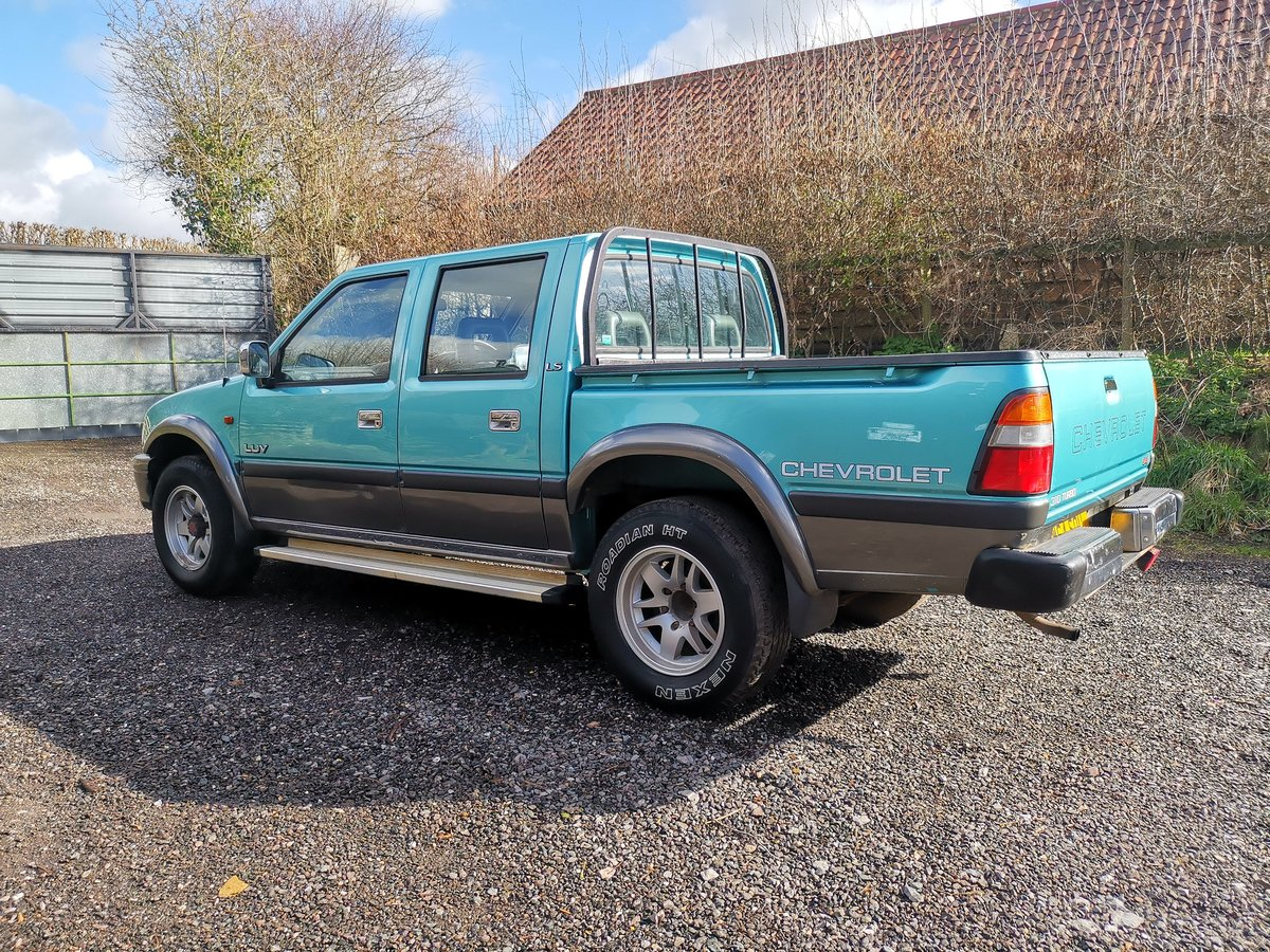 2000 Chevrolet LUV Pickup 3.1 Manual Diesel 4WD (Isuzu) SOLD (picture 3 of 6)
