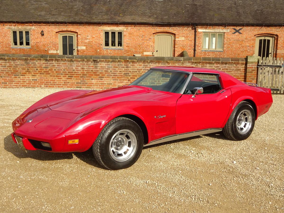 CORVETTE STINGRAY 5700CC AUTO C3 TARGA TOP 1976  For Sale (picture 1 of 6)