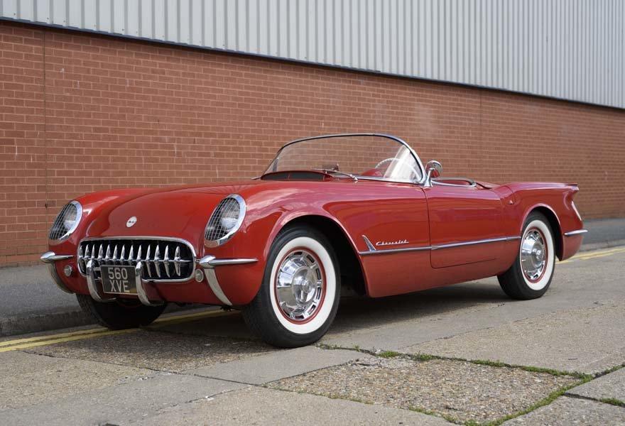 1954 Chevrolet Corvette C1 ( LHD ) For Sale (picture 1 of 22)