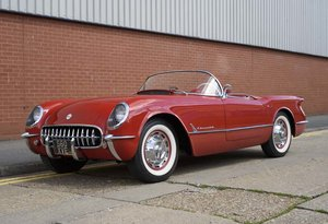1954  Chevrolet Corvette C1 For Sale In London ( LHD )