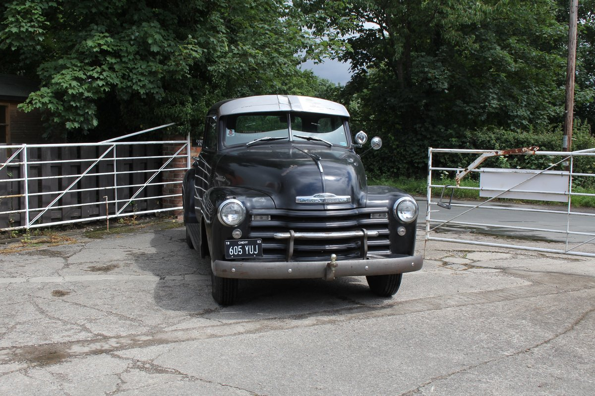 1953 Chevrolet 3100 Pick Up Truck, Very Original SOLD (picture 1 of 15)