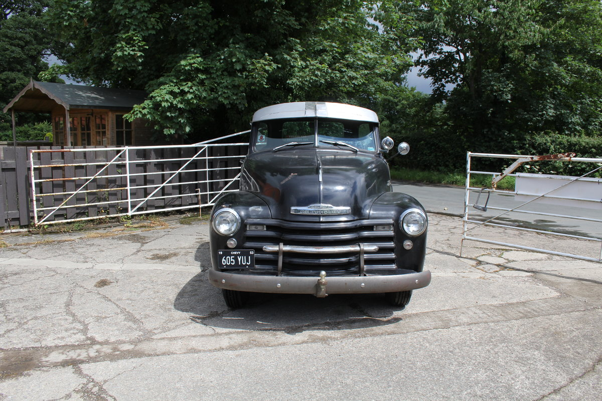 1953 Chevrolet 3100 Pick Up Truck, Very Original SOLD (picture 3 of 15)