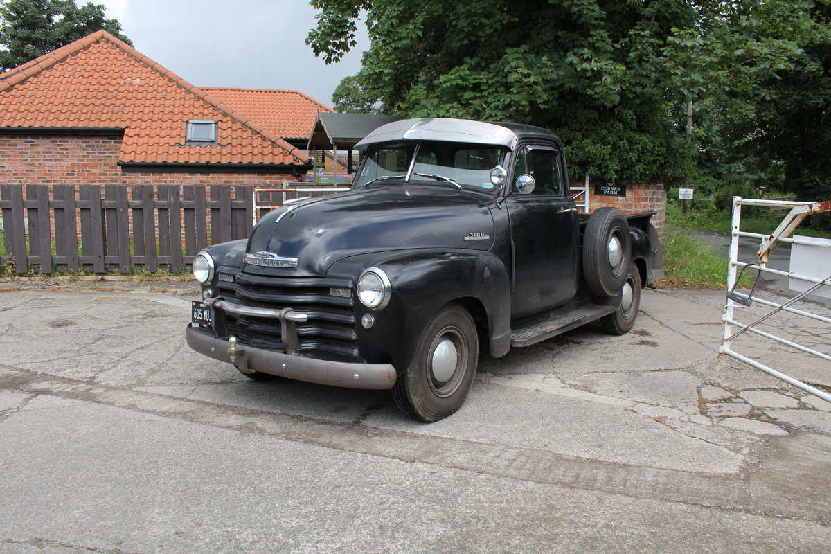 1953 Chevrolet 3100 Pick Up Truck, Very Original SOLD (picture 4 of 15)