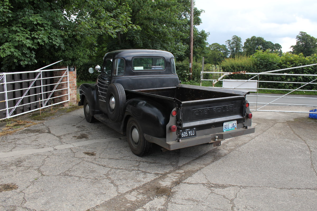 1953 Chevrolet 3100 Pick Up Truck, Very Original SOLD (picture 5 of 15)