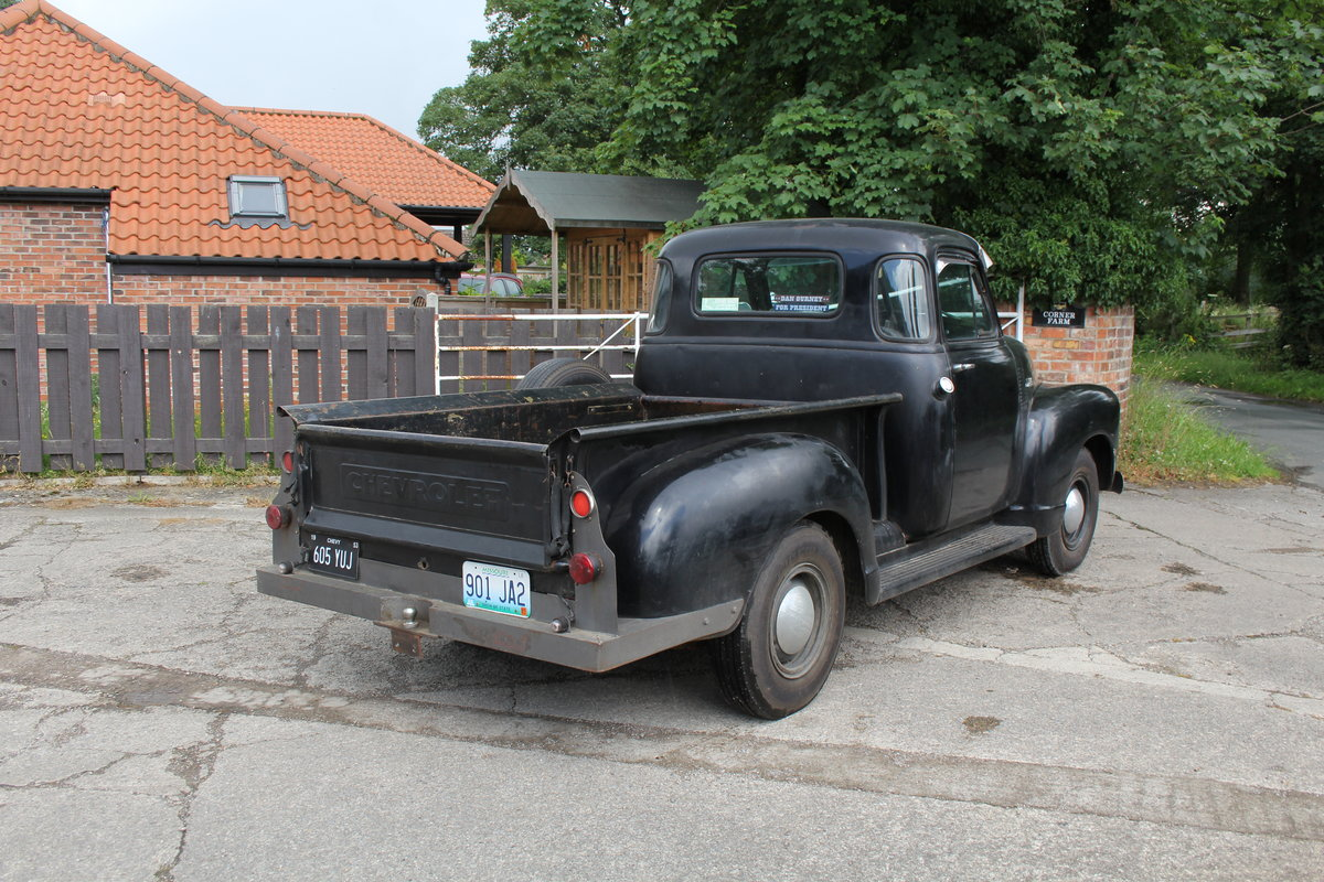 1953 Chevrolet 3100 Pick Up Truck, Very Original SOLD (picture 7 of 15)