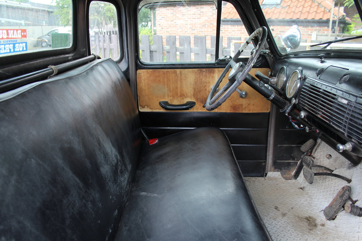1953 Chevrolet 3100 Pick Up Truck, Very Original SOLD (picture 12 of 15)
