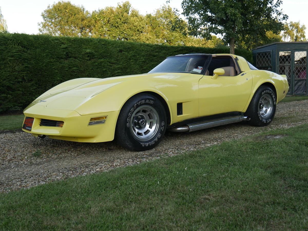 1981 Chevrolet Corvette C3 5.7 V8 Absolutely Stunning For Sale (picture 2 of 6)
