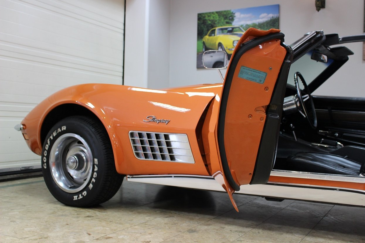 1972 Corvette Stingray 350 V8 Auto 18k Body Off Restoration Sold Car And Classic