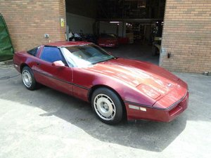 CHEVROLET CORVETTE C4 350 V8 AUTO(1989)MET RED SOLID PROJECT