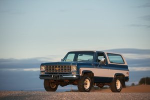 1976 Chevrolet Blazer Cheyenne K5 350ci - No reserve For Sale by Auction