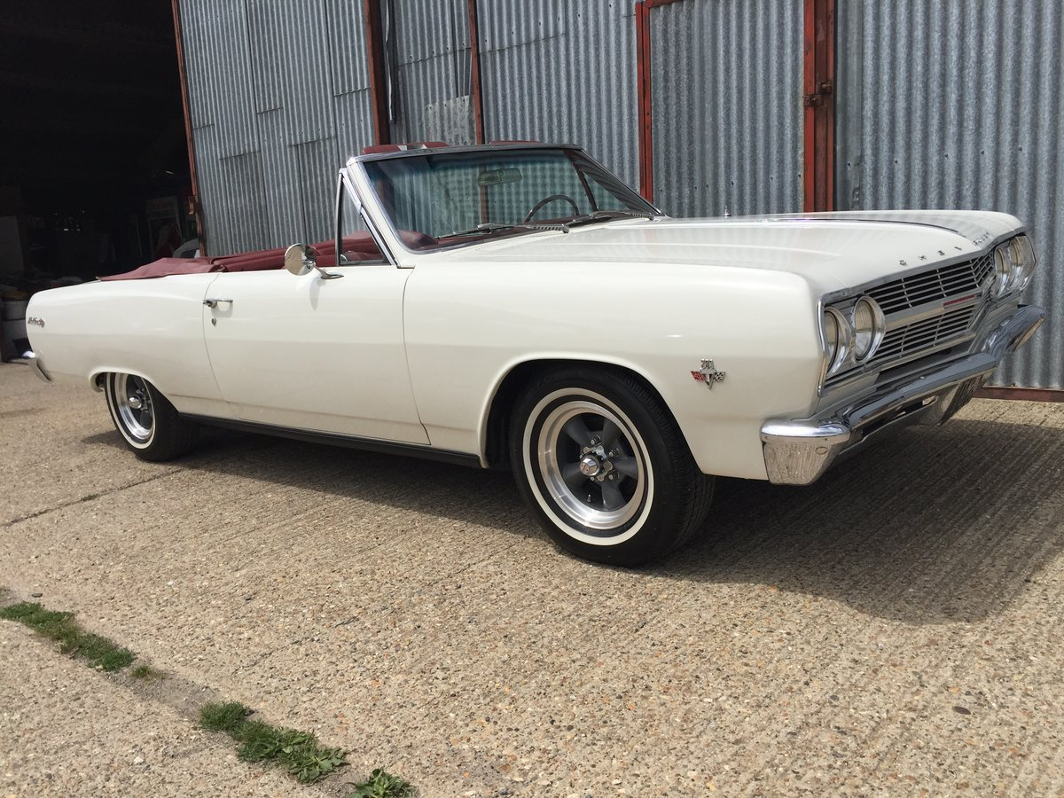 Lovely 1965 Chevrolet Chevelle Malibu SS Convertible For Sale (picture 1 of 6)