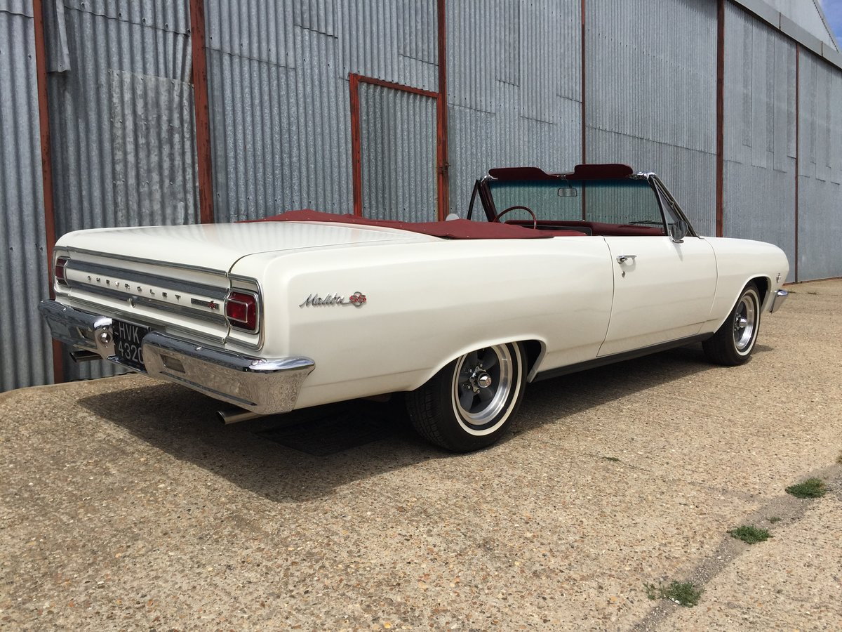 Lovely 1965 Chevrolet Chevelle Malibu SS Convertible For Sale (picture 2 of 6)