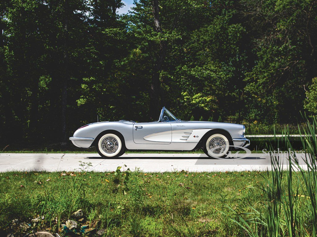 1958 Chevrolet Corvette Fuel-Injected  For Sale by Auction (picture 5 of 6)