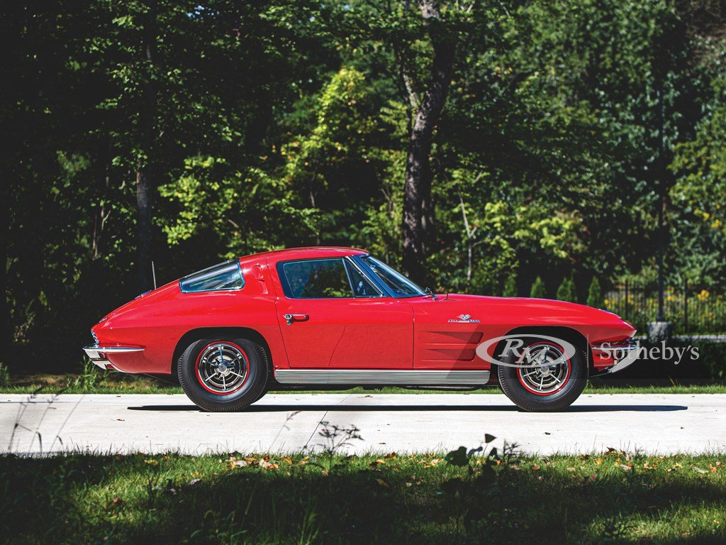 1963 Chevrolet Corvette Sting Ray Fuel-Injected Coupe  For Sale by Auction (picture 5 of 6)