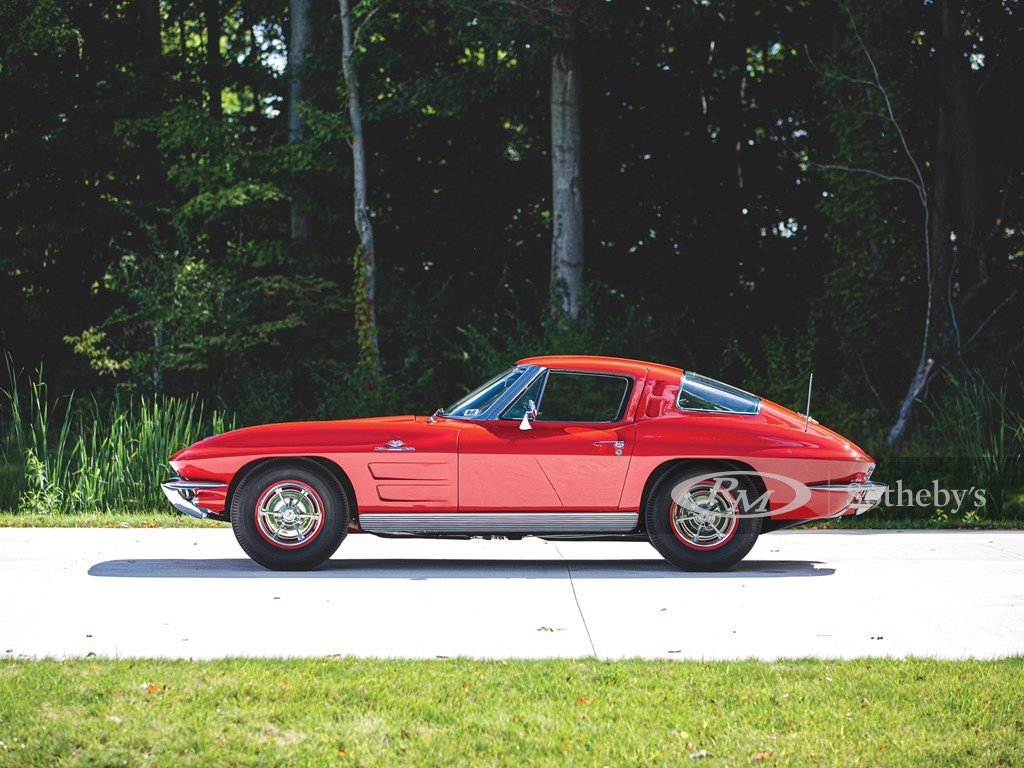 1963 Chevrolet Corvette Sting Ray Fuel-Injected Coupe  For Sale by Auction (picture 6 of 6)